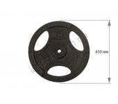 Диск чугунный USA Style 15 кг SS-EK-D50-2048-15