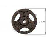 Диск чугунный USA Style 5 кг SS-EK-D50-2048-5