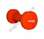 Гантель неопреновая Fitex 1 кг