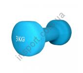 MD2015-3N Гантель неопреновая Fitex 3 кг