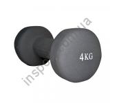 MD2015-4N Гантель неопреновая Fitex 4 кг