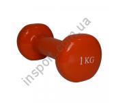 MD2015-1V Гантель виниловая Fitex 1 кг
