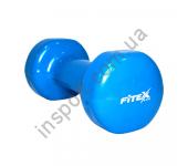 Гантель виниловая Fitex 3 кг