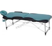 Массажный стол Fitness Master 2-секционный сине-черный