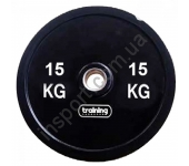 Бамперный диск Fitness Master 15 кг