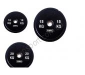 Бамперный диск Fitness Master 20 кг
