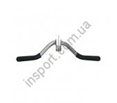 Ручка для тяги InterAtletika E5-08 (бицепс) V-образная, вращающаяся