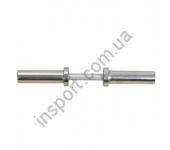 Ручка гантельная без замков 50 мм,50 см Inter Atletika C3-23