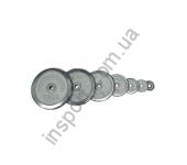 Диск хромированный HouseFit DB C102-0,5 - DB C102-20 (0,5 - 20 кг)