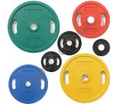 Диск олимпийский HouseFit OP-1.25 - OP-25 (1,25 - 25 кг)