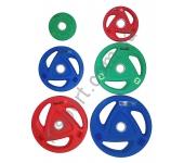 Диск олимпийский House Fit  OR-102-2.5 - OR-102-25 (2,5-25 кг)