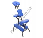 HY-1002 Массажный стул с сумкой голубой