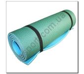 Туристический коврик голубой-зеленый 1х50х180 см HM