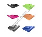 Коврик для йоги YM02 зеленый/оранжевый/серый/синий/розовый/черный