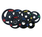 Набор дисков для штанги Fitnessport 105 кг
