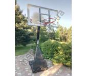 Баскетбольная стойка (мобильная) Spalding Portable Acrylic 60