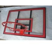 Баскетбольный щит 121x80 Vigor BB002