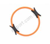 Кольцо для пилатеса Ecofit MD1416 390мм (металл, неопрен)