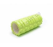 Роллер для занятий йогой и пилатесом салатовый Ecofit MDF001 33*14см