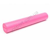 Роллер для занятий йогой и пилатесом розовый Ecofit MDF008-А 90*15см