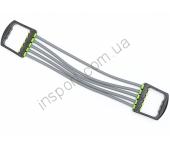 Эспандер плечевой 5-ти полосный трубчатый с ручками Ecofit MD1311 7*11*500мм