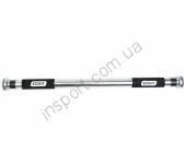 Турник в дверной проём Ecofit MD1128 (металл, ручка неопрен, резина, 67-85см)
