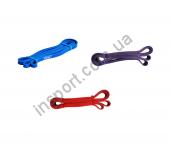 Резиновая лента для фитнеса 13, 22, 32 мм SPART Rising CE6501-13-32