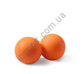 Мяч массажный двойной оранжевый Spart CE7002