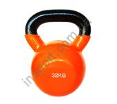 Виниловая гиря 4-32 кг Spart DB2174-4-32