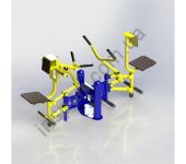 Бицепс машина/рычажная тяга SG124