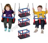 Качели детские обрезиненные с цепями Babygrai