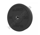 3085125 Диск амортизирующий Eleiko XF 5-20 кг черный
