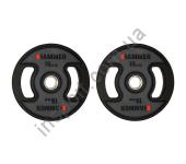 4709 Олимпийские диски профессиональные Hammer PU Weight Discs 2*15 kg